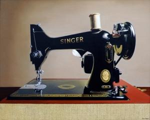 """The Singer 24"""" x 30"""""""
